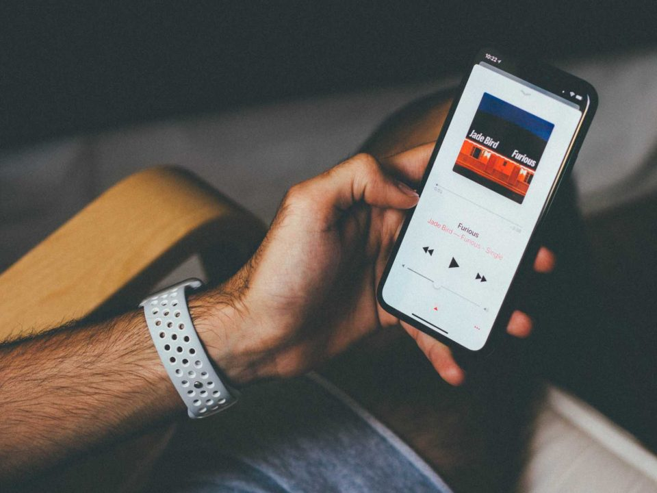 aplicativo de música online