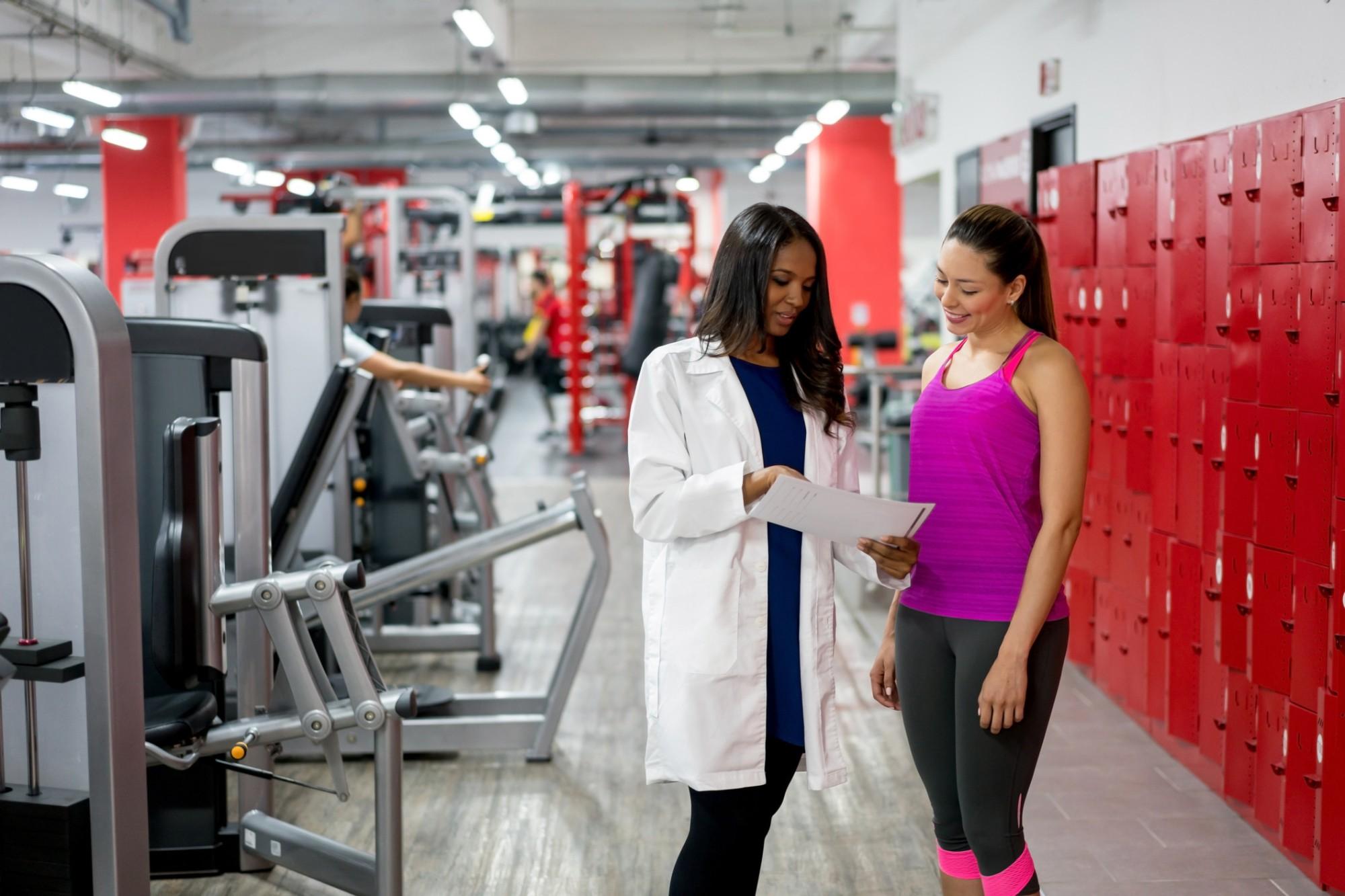 avaliação física na academia