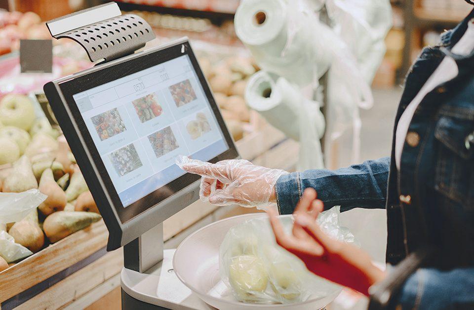 tecnologias usadas em supermercados