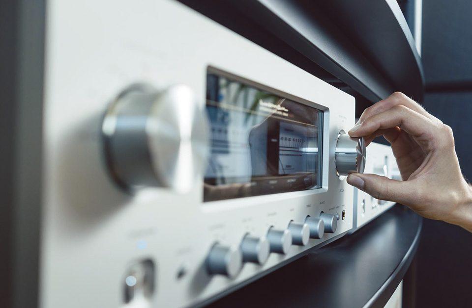 sistema de som para supermercado