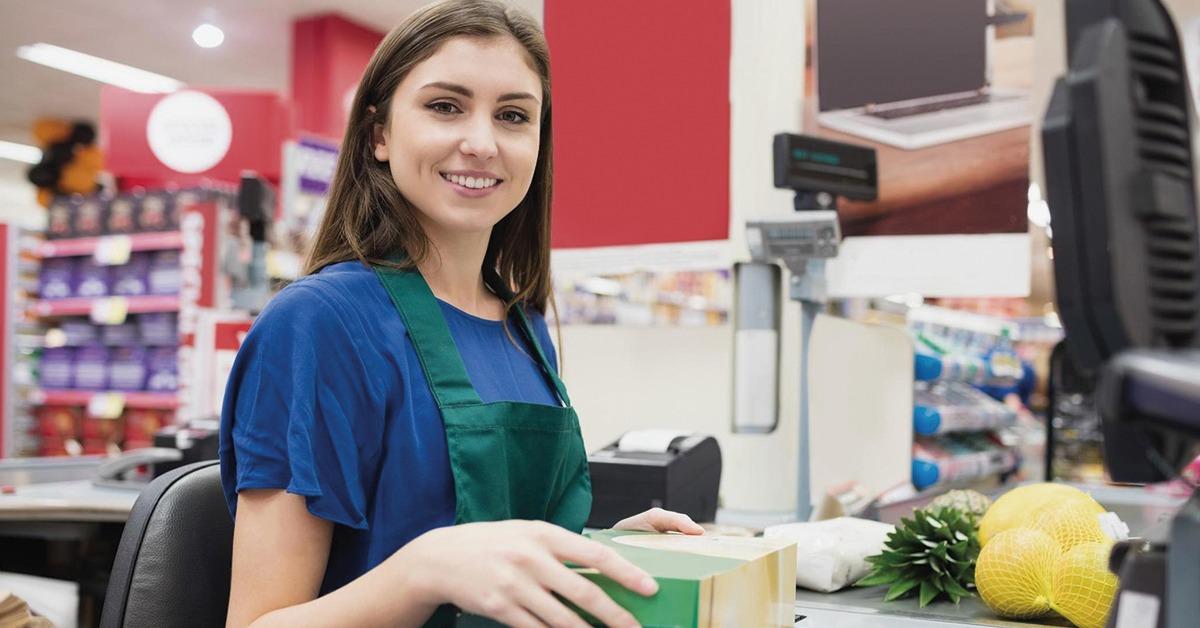 abertura e fechamento de caixa de supermercado