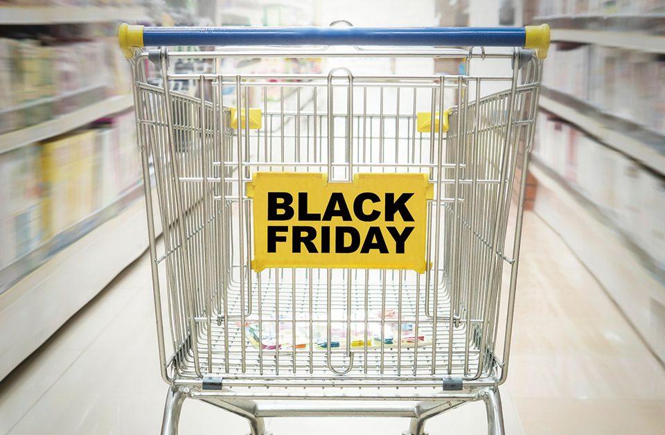 black friday em supermercado