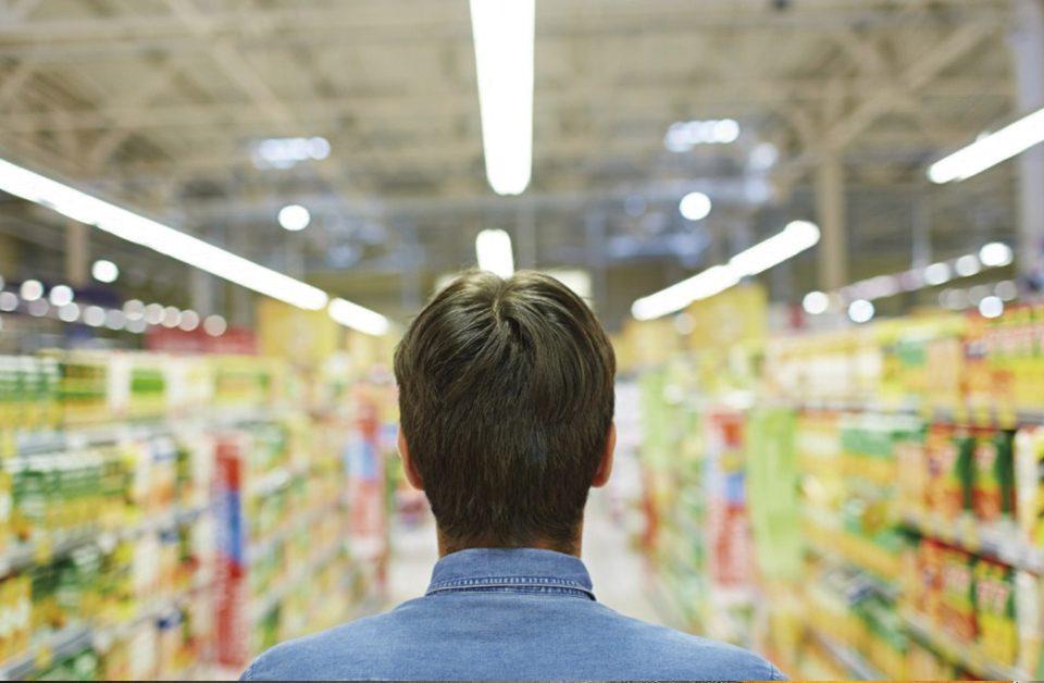 iluminação ideal para supermercados