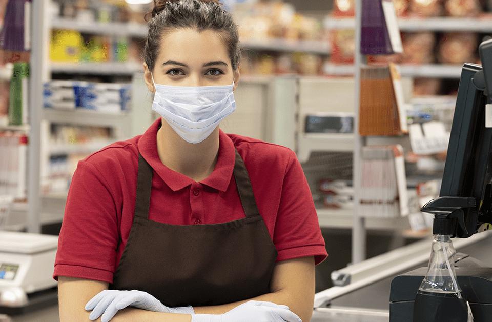higiene em supermercados